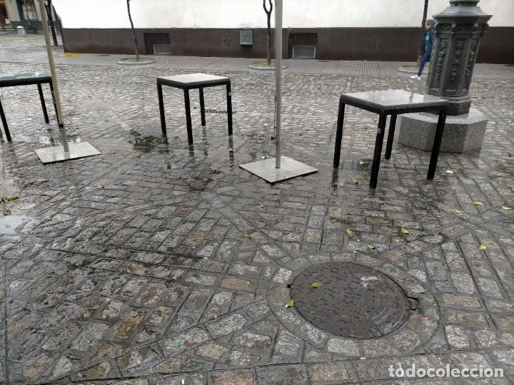Antigüedades: SOLO RECOGIDA CADIZ CAPITAL CENTRO 24 sillas y 6 mesas de terraza BAR RESTAURANTE - Foto 24 - 229701075