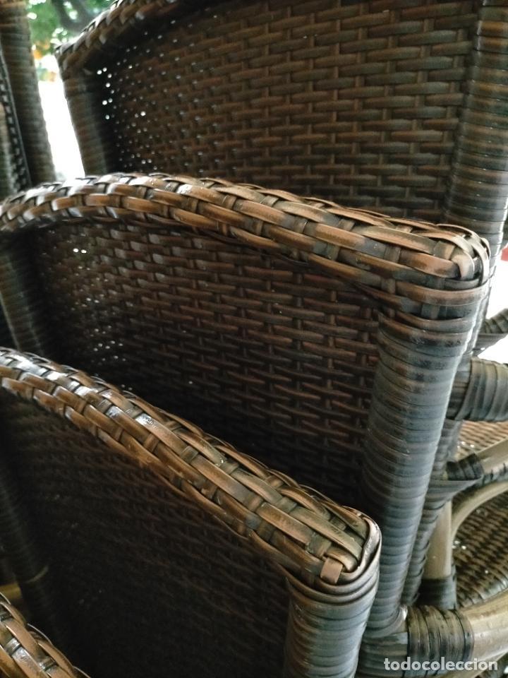 Antigüedades: SOLO RECOGIDA CADIZ CAPITAL CENTRO 24 sillas y 6 mesas de terraza BAR RESTAURANTE - Foto 27 - 229701075