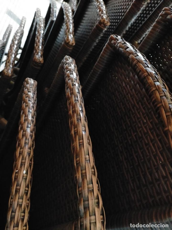 Antigüedades: SOLO RECOGIDA CADIZ CAPITAL CENTRO 24 sillas y 6 mesas de terraza BAR RESTAURANTE - Foto 28 - 229701075