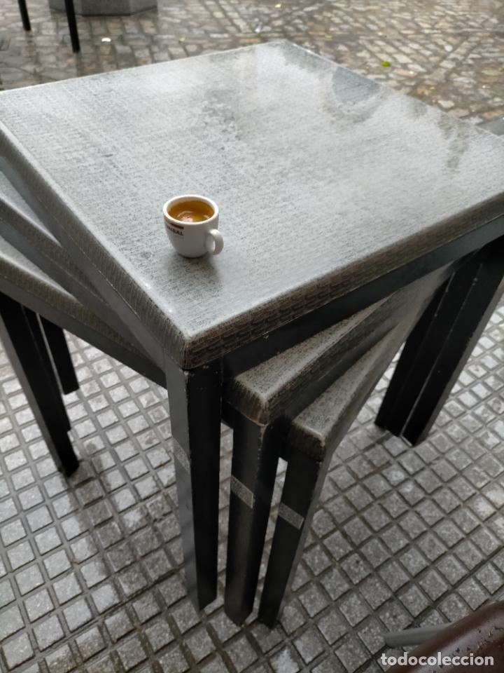 Antigüedades: SOLO RECOGIDA CADIZ CAPITAL CENTRO 24 sillas y 6 mesas de terraza BAR RESTAURANTE - Foto 31 - 229701075