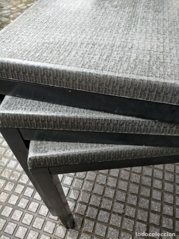 Antigüedades: SOLO RECOGIDA CADIZ CAPITAL CENTRO 24 sillas y 6 mesas de terraza BAR RESTAURANTE - Foto 32 - 229701075