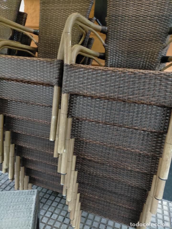 Antigüedades: SOLO RECOGIDA CADIZ CAPITAL CENTRO 24 sillas y 6 mesas de terraza BAR RESTAURANTE - Foto 34 - 229701075