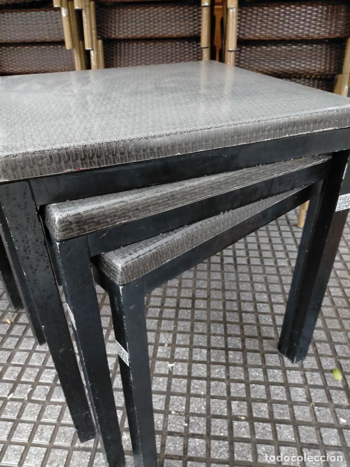 Antigüedades: SOLO RECOGIDA CADIZ CAPITAL CENTRO 24 sillas y 6 mesas de terraza BAR RESTAURANTE - Foto 35 - 229701075