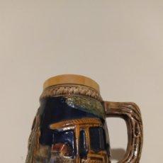 Antigüedades: JARRA CERVEZA ALEMANA CON MÚSICA. Lote 230839980