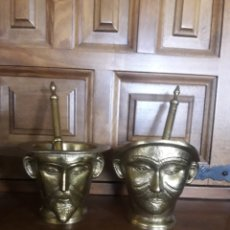Antigüedades: MAGNÍFICA PAREJA DE ALMIREZ, DE DON QUIJOTE Y SANCHO. Lote 230857620