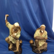 Antigüedades: 2 FIGURAS DE PORCELANA CHINA.. Lote 230884570