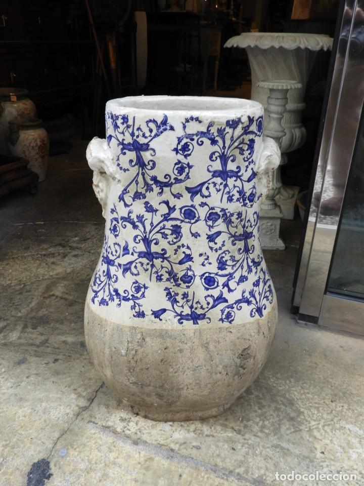 Antigüedades: JARRON DE FLORES ARABE PARAGUERO BASTONERO - Foto 7 - 230957900