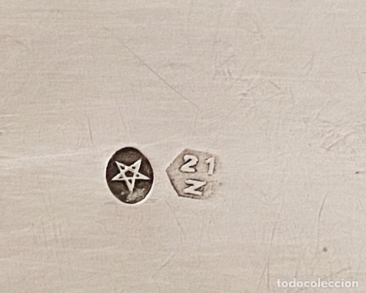 Antigüedades: Antigua caja de plata, preciosa.Marcas, Principios del siglo XX - Foto 6 - 230964795