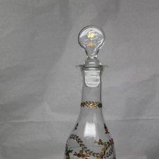 Antigüedades: BOTELLA DE LA GRANJA CRISTAL SOPLADO. Lote 230984330