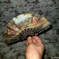 Antigüedades: PEQUEÑO ABANICO DE MUÑECA. Lote 231024660