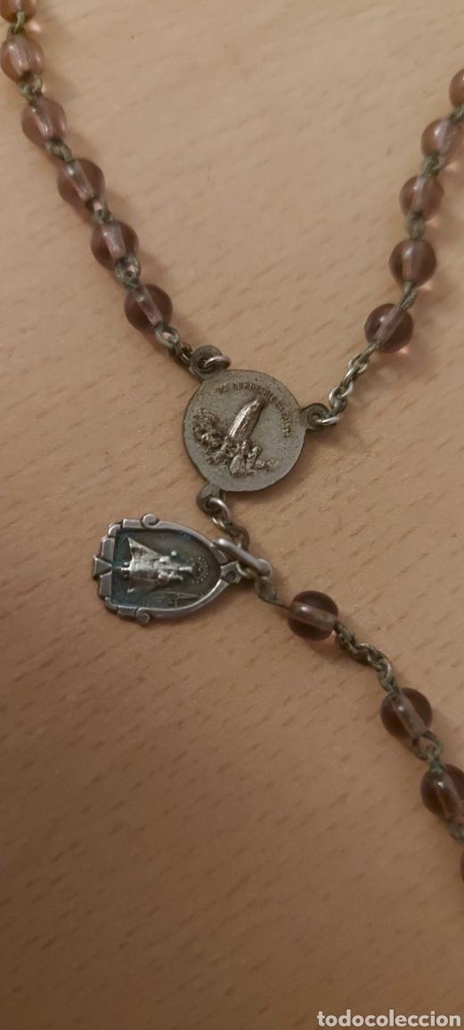 Antigüedades: Rosario antiguo de Fatima con medallas - Foto 4 - 231066995