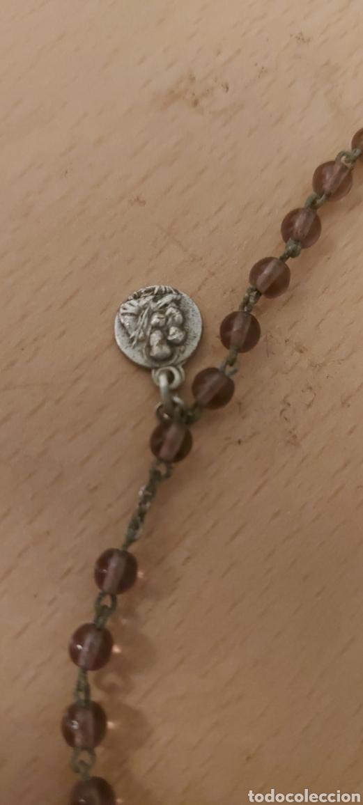 Antigüedades: Rosario antiguo de Fatima con medallas - Foto 5 - 231066995