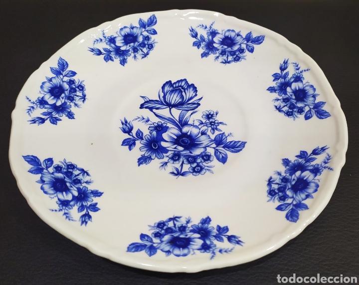 Antigüedades: Aguamanil/Jarra con Plato de Porcelana/Cerámica MULDER-HOLLAND (sello identificativo). - Foto 13 - 231089610