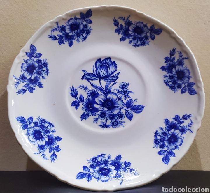 Antigüedades: Aguamanil/Jarra con Plato de Porcelana/Cerámica MULDER-HOLLAND (sello identificativo). - Foto 14 - 231089610