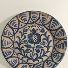 Antiquités: PLATO LEBRILLO DE FAJALAUZA. Lote 231121670
