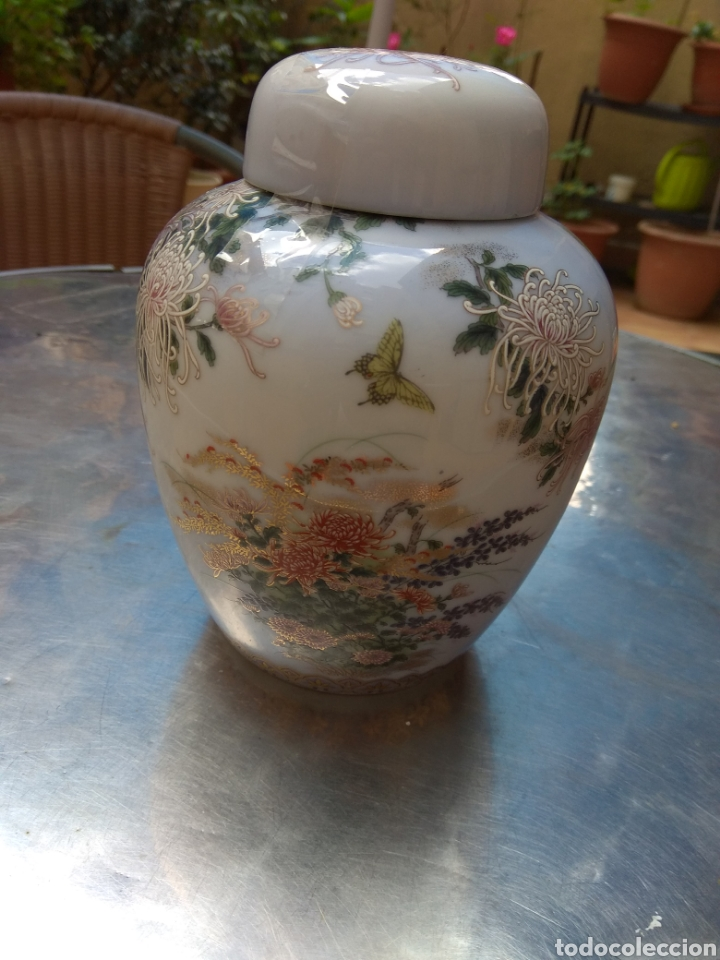 Antigüedades: tibor porcelana kyoto - Foto 2 - 231176110