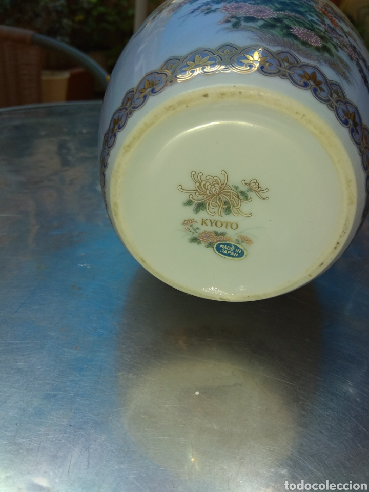 Antigüedades: tibor porcelana kyoto - Foto 3 - 231176110