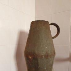 Antigüedades: ANTIGUA CANTARA PARA EL VINO PROCEDENTE DE ANTIGUA BODEGA. Lote 231179045