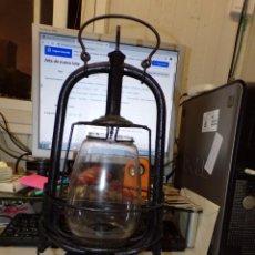 Antigüedades: ANTIGUO FAROL LAMPARA DE ACEITE. Lote 231232540