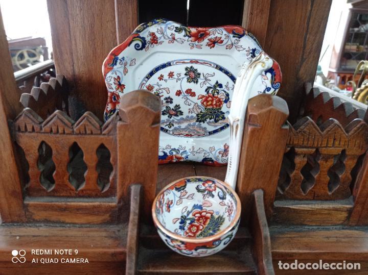 PRECIOSA Y ANTIGUA SOPERA JAPONESA PORCELANA AMHERST. IMARI.VER FOTOS. EL COLORIDO ES IMPRESIONANTE (Antigüedades - Porcelana y Cerámica - Japón)