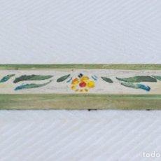 Antigüedades: PRECIOSA CENEFA DECORATIVA.. Lote 231292720