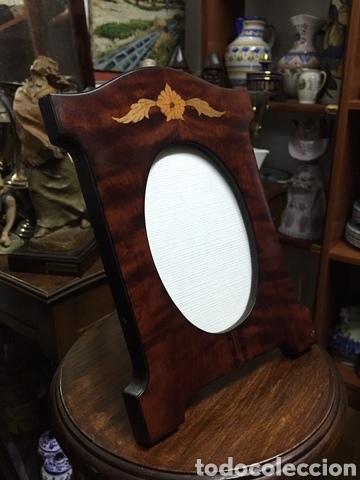 Antigüedades: Portaretrato de madera clásico - Foto 2 - 259031365
