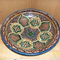 Antigüedades: ANTIGUO CUENCO DE CERAMICA ARABE. Lote 231341340
