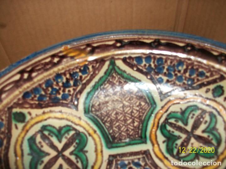 Antigüedades: ANTIGUO CUENCO DE CERAMICA ARABE - Foto 2 - 231341340