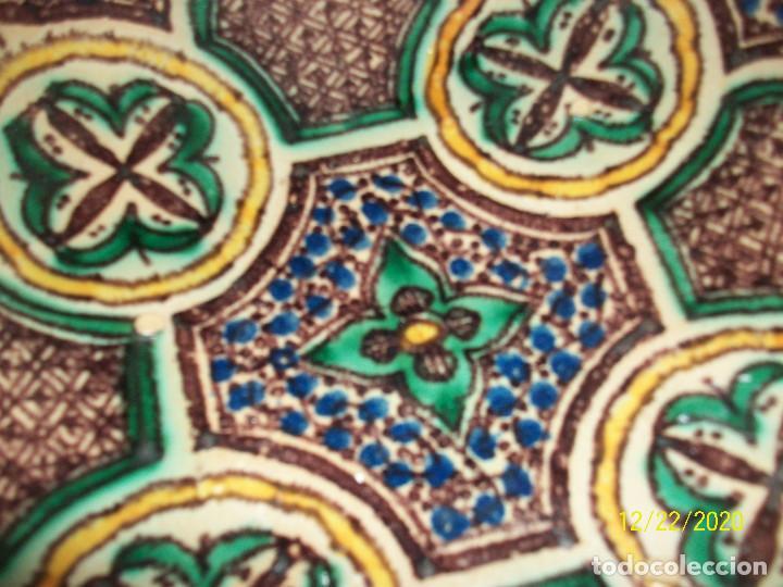 Antigüedades: ANTIGUO CUENCO DE CERAMICA ARABE - Foto 3 - 231341340