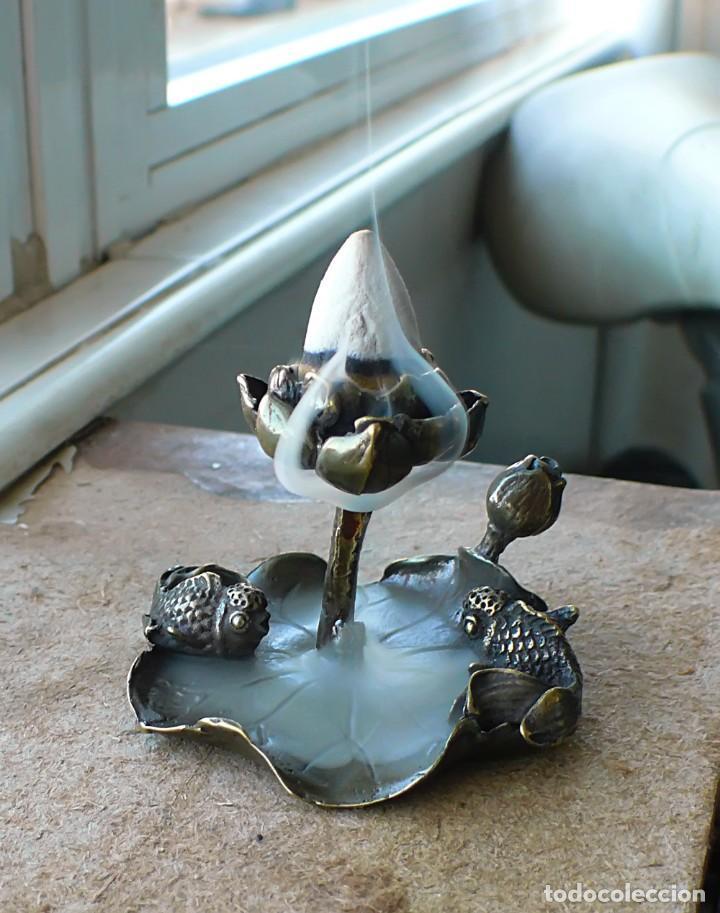 Antigüedades: escultura en miniatura. bronce .LOTO - Foto 3 - 229961905