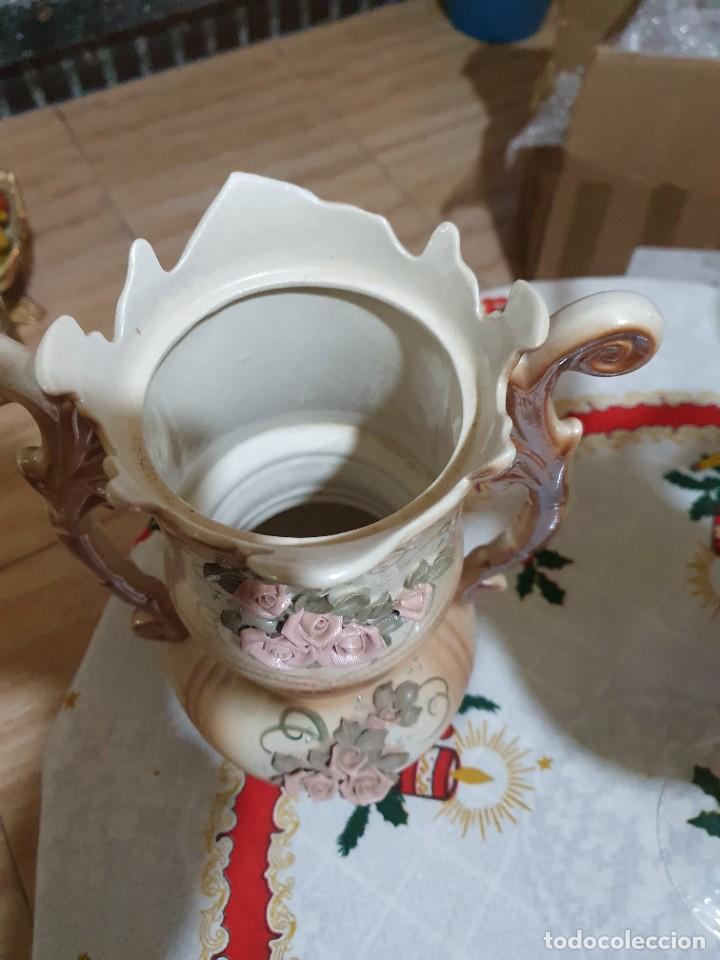 Antigüedades: antiguo jarron 0 florero - Foto 3 - 231401340