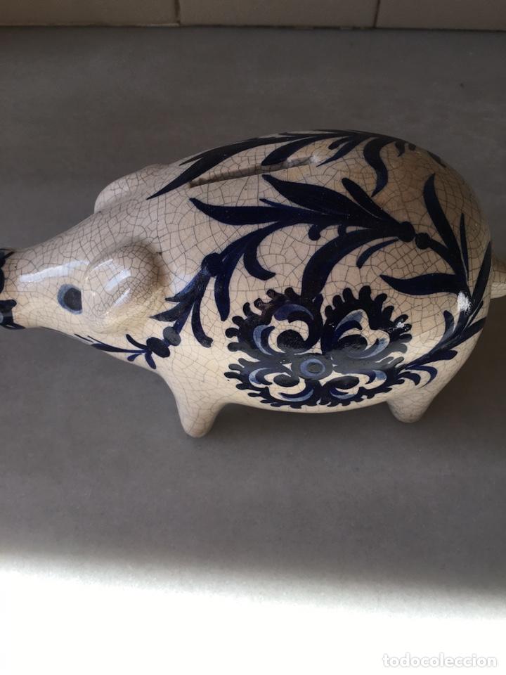 Antigüedades: Hucha cerdo agrietado - Foto 2 - 231451200