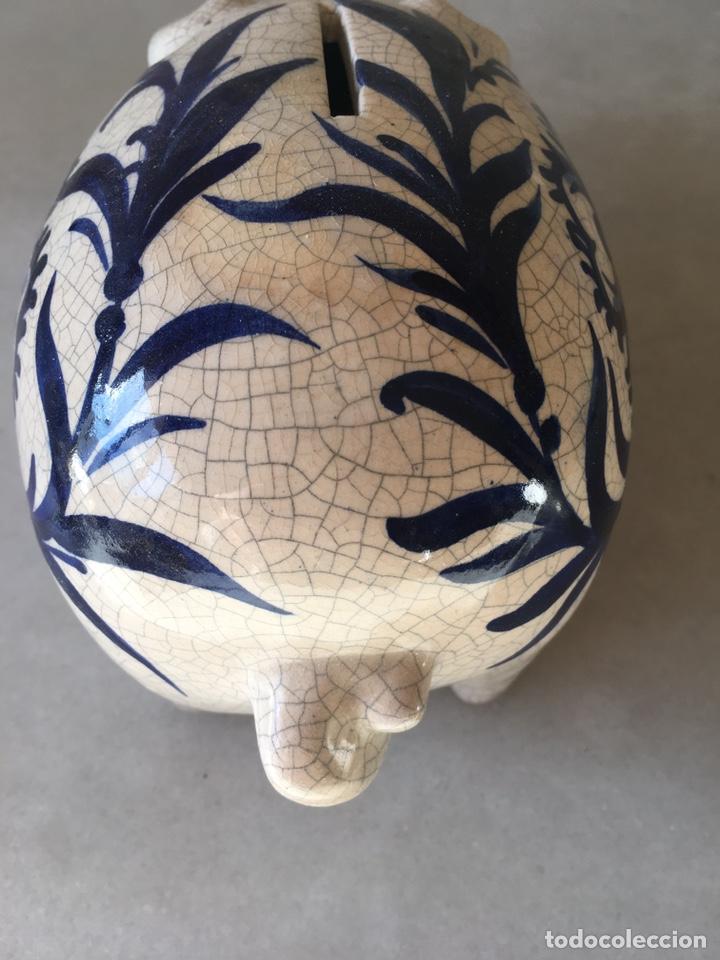 Antigüedades: Hucha cerdo agrietado - Foto 4 - 231451200