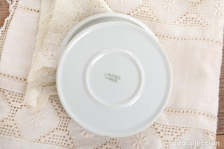 Antigüedades: Preciosa caja de porcelana de Limoges de flores - Foto 7 - 231530360