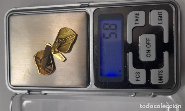 Antigüedades: Antiguos Gemelos de oro amarillo - 18 kilates contrastados - 5.8gr - Foto 5 - 231612750