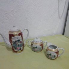 Antigüedades: JUEGO DE TE PORCELANA JAPONESA. Lote 231620400