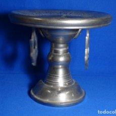 Antigüedades: COPA CANDELABRO EN METAL.MBA.. Lote 231717220