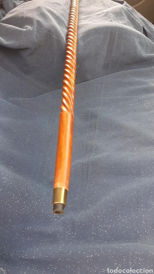 Antigüedades: antiguo baston brujula - Foto 3 - 231749160