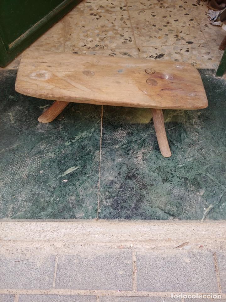 BANCO DE ORDEÑO (Antigüedades - Técnicas - Rústicas - Ganadería)