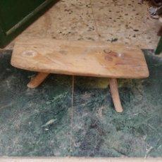 Antigüedades: BANCO DE ORDEÑO. Lote 231802005