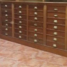 Antigüedades: MUEBLE CAJONERA ÉPOCA MODERNISTA. Lote 231806645