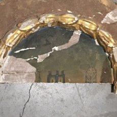 Antigüedades: FRAGMENTO DE RETABLO ANTIGUO - ARTE RELIGIOSO. Lote 231899000