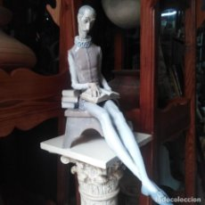Antigüedades: ANTIGUA FIGURA DE LLADRO, DON QUIJOTE DE LA MANCHA.. Lote 231905260