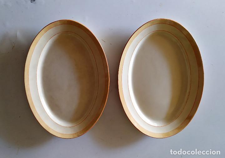 DOS BANDEJAS DE CERAMICA DE CARTAGENA. (Antigüedades - Porcelanas y Cerámicas - Cartagena)