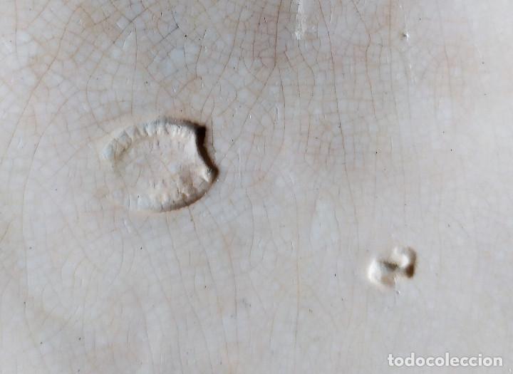 Antigüedades: DOS BANDEJAS DE CERAMICA DE CARTAGENA. - Foto 7 - 231977200