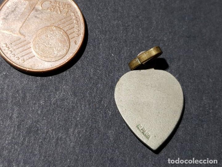 Antigüedades: ANTIGUA MEDALLA PEQUEÑA DE ALPACA DE NTRA. SRA. DEL ROCIO - Foto 2 - 231986255