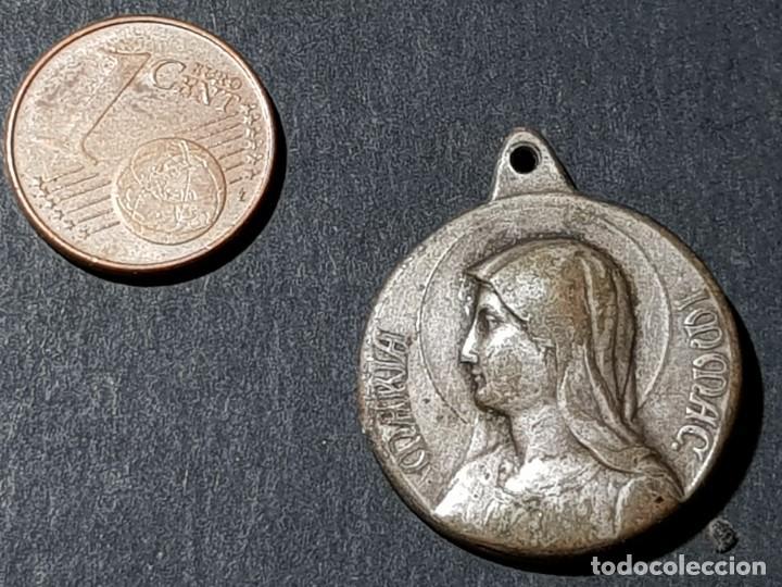 Antigüedades: MEDALLA DE PIVS XI Y MARÍA INMACULADA - Foto 2 - 231987050