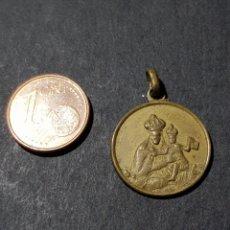 Antigüedades: ANTIGUA MEDALLA VIRGEN CON EL NIÑO. Lote 231991425