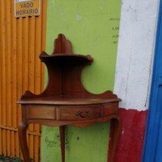 Antigüedades: RINCONERA ALFONSINA CON BALDAS. Lote 232001035