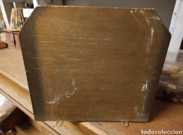 Antigüedades: Peana mensula Estuco y madera - Foto 2 - 183544355
